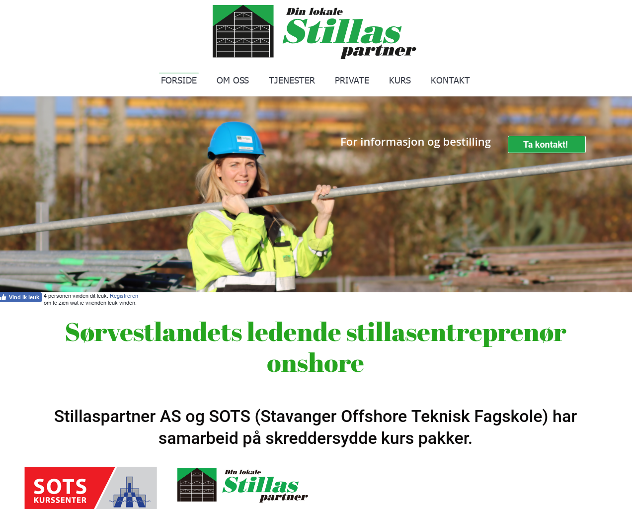 stillaspartner.no presentation