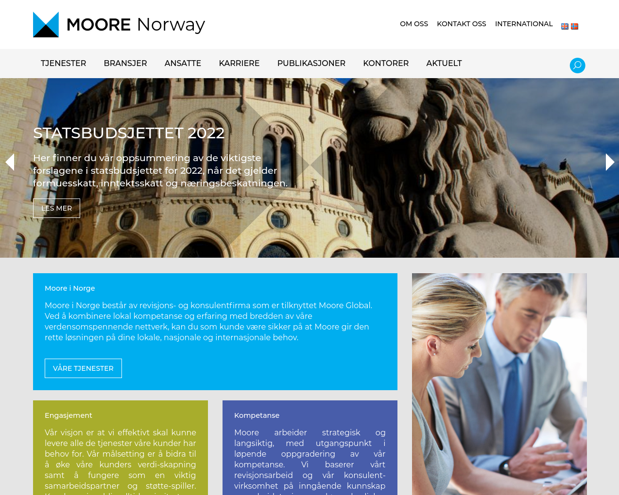 moore-norway.no presentation