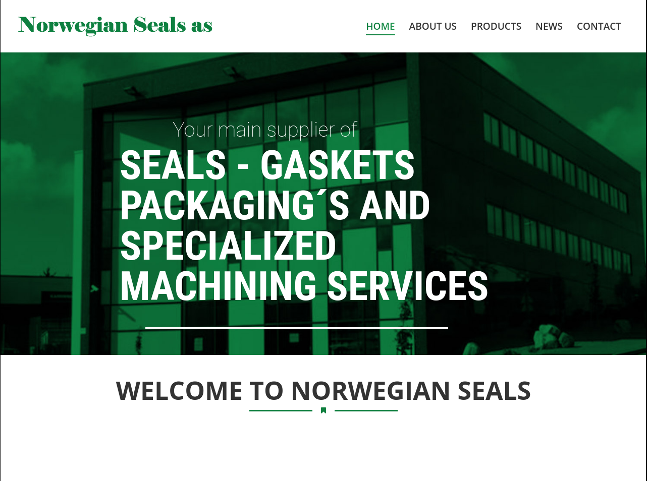 norwegianseals.no presentation
